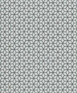 3D-Effect-Geometric-Wallpaper-Grey-Black-Textured-Glitter-Vinyl-Paste-The-Wall