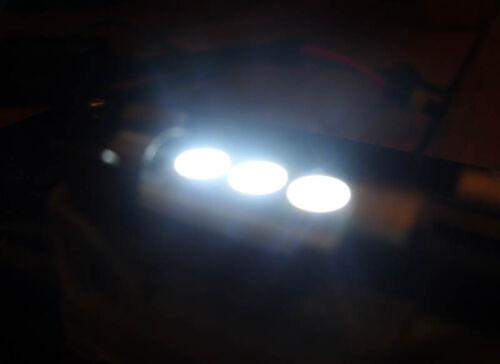 Xénon Blanc Canbus 3 SMD DEL Intérieur Ampoule de remplacement pour VW Scirocco Corrado