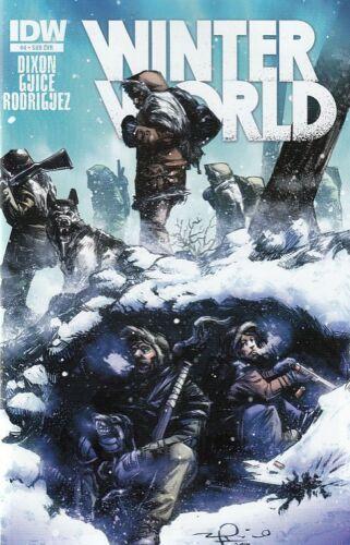 WINTER WORLD #4 SUB COVER IDW COMICS