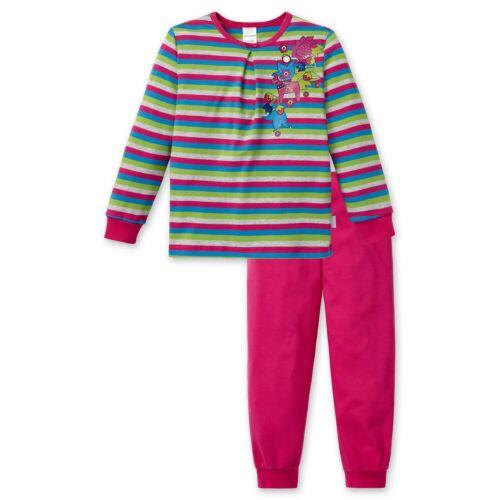 SCHIESSER Mädchen Schlafanzug Pyjama Lang Nordzauber multicolour NEU *UVP 35,95