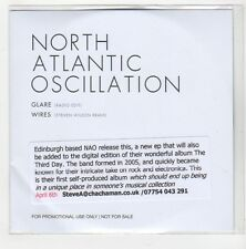 (GE677) North Atlantic Oscillation, Glare / Wires - 2015 DJ CD