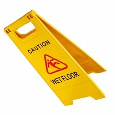 New Listingfeuille Wet Floor Caution Safety Sign Folding Swimming Pool Yellow Slippery