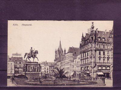 Aktiv Nicht Frankierte Ansichtskarte Köln Heumarkt europa:11440 Verkehr & Transport Eisenbahn