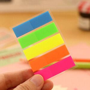 Cute Sticky Notes Bookmark Memo Pad Sticker Office School Kids Stationery