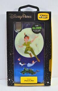 Disney-Otterbox-Peter-Pan-amp-Tinker-Bell-Glow-In-Dark-Apple-Iphone-XS-Max-Case
