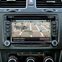 """RNS510-Style 7"""" Touch-Screen Sat-Nav/DVD/iPod/Bluetooth/GPS/USB for VW Scirocco"""