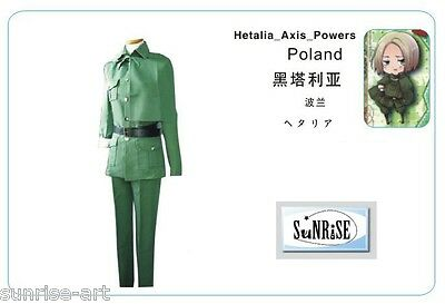APH Axis Powers Hetalia Cosplay Costume Custom Made -  Poland APH21