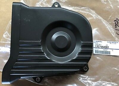 NEW Subaru LH Driver Side Outer Timing Cover 00-12 Legacy Outback OEM 13574AA10A