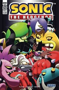 Sonic The Hedgehog 25 Cover B Hammerstrom Art Idw Comics Ships 2 12 2020 Ebay