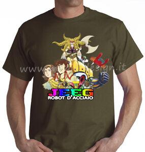 Tshirt-JEEG-ROBOT-ACCIAIO-E-MOSTRI-ANIBA-HIMICA-T-SHIRT-ANIME-MANGA-fino-5XL