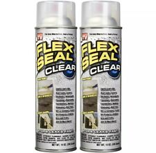 Flex Seal Rubber Sealant Clear Spray 14oz 2 Pack