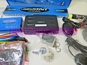 Compustar-Arctic-Start-2W900FM-AS-2-Way-LCD-Paging-Alarm-Remote-Start-System