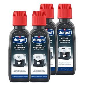 durgol swiss spezial espresso 4 entkalker flaschen a 125ml. Black Bedroom Furniture Sets. Home Design Ideas