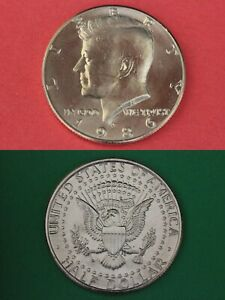 1990 S Proof John Kennedy Half Dollar With DIY Slab DCameo Combined Shipping
