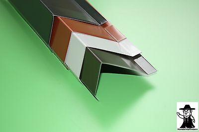 Baustoffe & Holz Ortgang Ortgangblech Ortblech Für Flachdach Aluminium Farbig 1m Lang 0,8 Mm