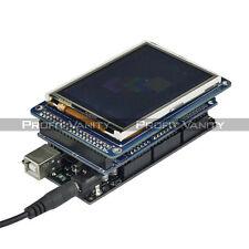 "SainSmart Mega 2560 R3 + 3.2"" TFT Touch LCD SD Reader + TFT Shield for Arduino"