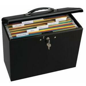 Image Is Loading Filing Box With Lock Document Storage Containers Steel