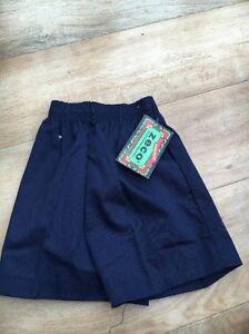 Zeco Navy Size 24 Boys Bnwt PE school shorts <T6964