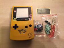 carcasa case game boy color  pikachu pokemon nueva new