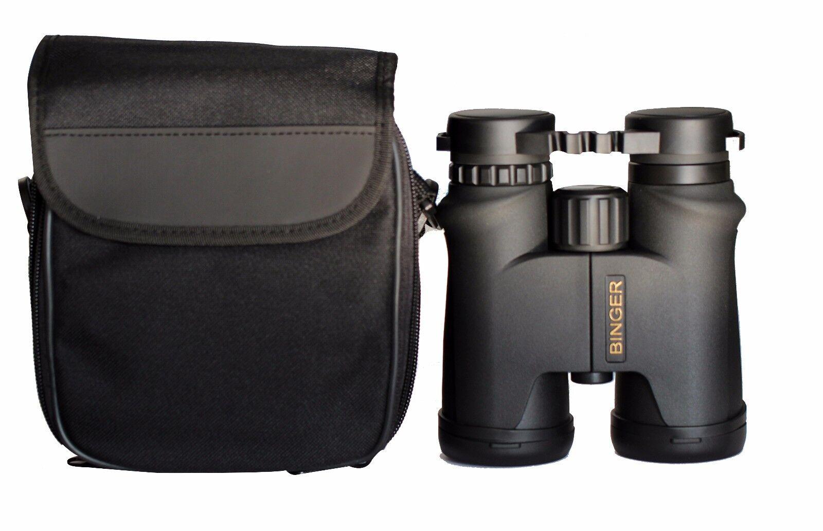 Binger HD 16x42 Waterproof Binoculars Roof Prism High Resolution BAK 4 Prism