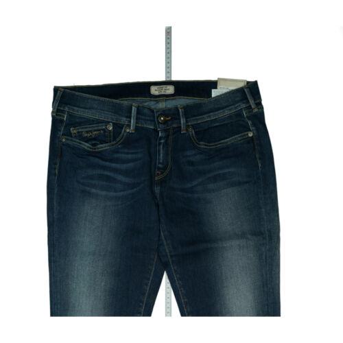 Pepe Jeans Stretch Slim Leg Skinny Fit pantalon regular waist 32//30 w32 l30 Bleu Nouveau