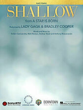 Lady Gaga Shallow US Sheet Music From a Star Is Born for