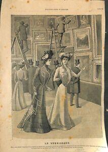 Vernissage-tableaux-Mode-femmes-de-Paris-Pub-High-Life-Tailor-ILLUSTRATION-1901