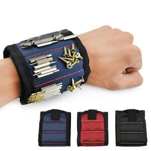Multi-Use-Magnetic-Wristband-Bag-Screws-Nails-Drill-Bits-Holder-Repair-Tool