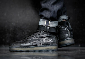 a5e3f480e797 Nike Special Forces Air Force 1 Mid SF AF1 QS Camo Size 13. AA7345 ...