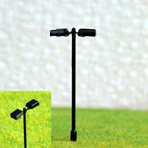 S208-10-Stueck-Strassenlampen-mit-LED-2-flammig-5-5cm-Set-Bahnsteigleuchten