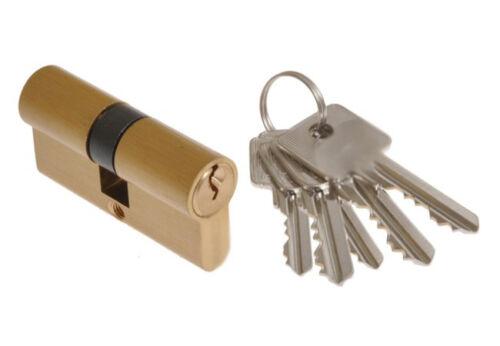 Zylinder Türschloss Schließzylinder Zylinderschloss 3-15 Schlüssel 35//40 mm