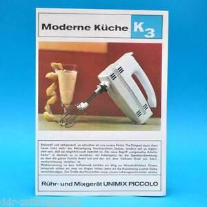 Agitacion-y-Licuadora-Unimix-Piccolo-DDR-1970-Folleto-Publicidad-Werbez-Dewag