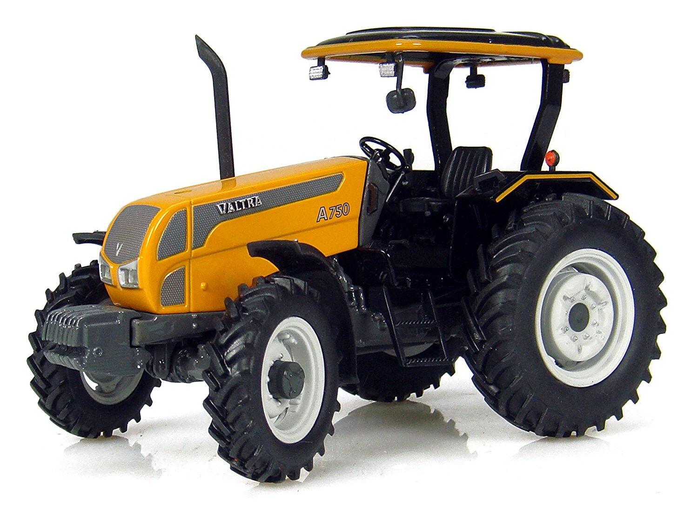 WIK77815 Tracteur T174 VALTRA équipé d/'un chargeur à godet et du relevage avan