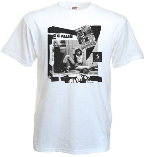 GG ALLIN Dirty Love Songs t-shirt white all sizes S...5XL