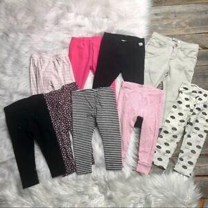 Girls-Leggings-Lot-18mo-Zara-Baby-Carter-s-9-PCS
