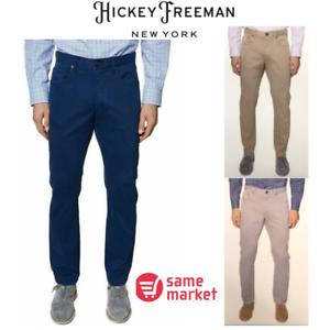 Couleur variété!!! Hickey Freeman Homme Pantalon Chino Taille NOUVEAU!!