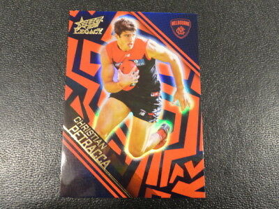 Australian Football Cards Charitable 2018 Afl Select Legacy Holographic Parallel Card No.hp135 C Petracca Melb 261 Customers First Sports Mem, Cards & Fan Shop