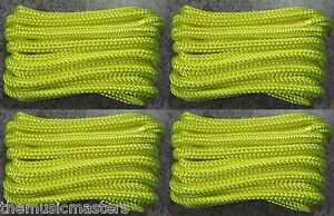 """Green Double Braided 1//2/"""" x 15/' ft Boat Marine HQ Dock Lines Mooring Ropes 4"""