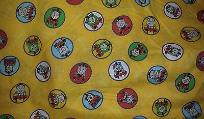 "Thomas the Tank Engine & Friends Train Fabric Cotton V.I.P. 44"" Wide By The Yard"
