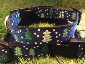 Christmas-dog-collar-small-dog-handmade-Christmas-tree-dog-collar