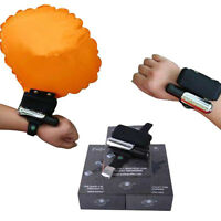 Adult/child Swim Lifesaving Bracelet Airbag Drowning Rescure Wristband
