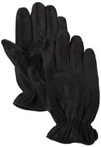 Isotoner Brushed Microfiber Gloves With Microluxe Lining ~ Size Med, LRG or XL