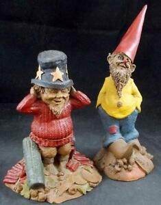 Tom Clark Gnomes Shiner & Sammy De Collection 1988/1985 Excellent État