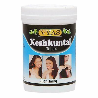 Keshkuntal Tablets By Vyas 100 Tablets For Premature Graying Of Hair Hair Loss Ebay