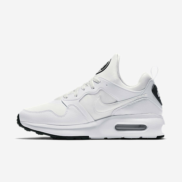 Nike Air Max Prime Mens 876068 100 White Platinum Black Running Shoes Size 8