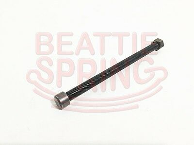 Leaf Spring Center Bolt PAIR 7//16 x 6 Fine Threaded Leaf Bolts with Nuts