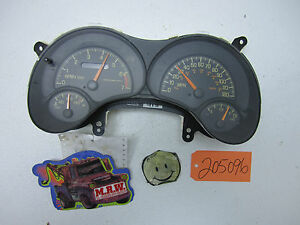 Image Is Loading 1999 99 Grand Am Sdometer Odometer Dash Cer