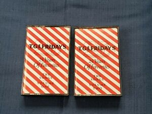 T.G.I. Friday's 25 Years of favorites volumes 1 and 2 Cassette 1990
