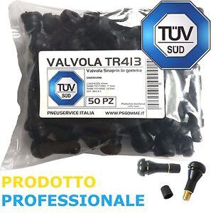 50-Valvole-Tubeless-TR413-Corte-ideale-per-cerchio-in-Lega-AUTO-E-MOTO