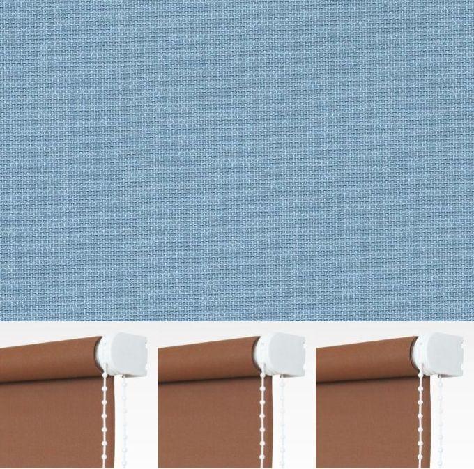 Kettenzugrollo Seitenzugrollo Tür Tür Tür Fenster Rollo Blau Hellblau Breite 60 - 240 cm   Neue Sorten werden eingeführt  008818